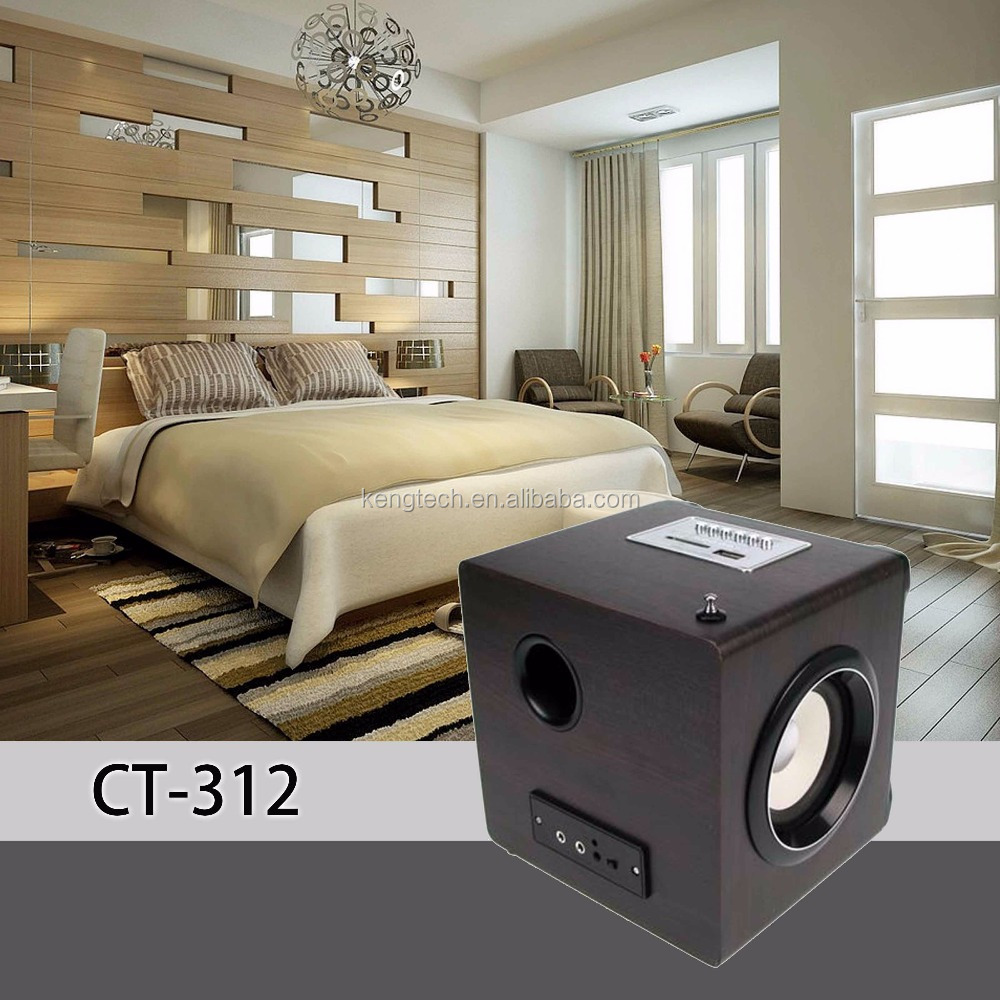 Newest High Quality USB SD Remote Control Retro Speaker & FM radio manufacturer price CT-312