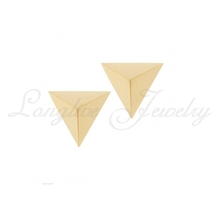 triangle earring handmade silver jewelry