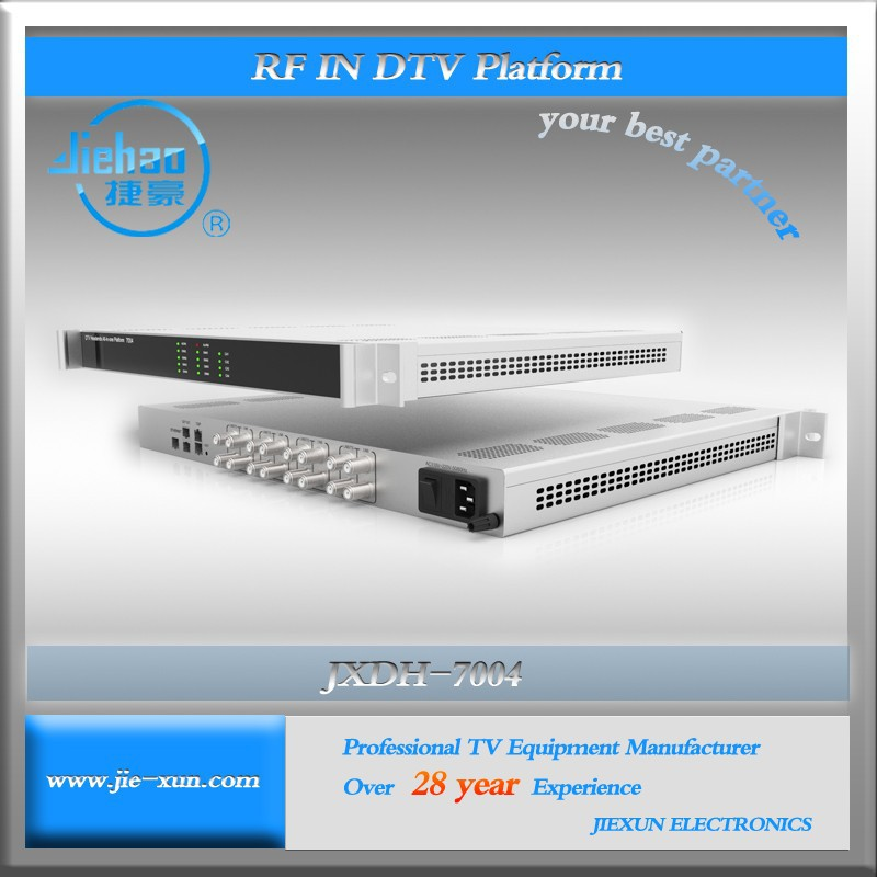 128 Channels FTA DVB-T2/S2 Satellite Receiver