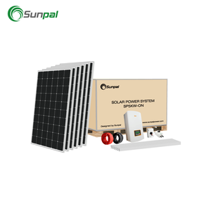 Sunpal 5 KW Solar Panel System Home On Grid 5KW Solar System Price