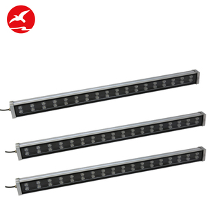 Energy Saving Ip65 Waterproof Aluminum Alloy Rgb 36W Linear Led Wall Washer Light With Dmx512 Control
