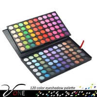 Trade Assurance Manly 120 Color Eyeshadow Palette Makeup Eye Shadow Ver B (2 layers of 60 Color)