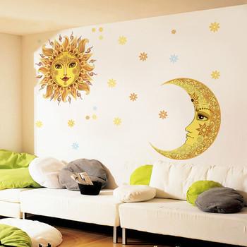 dubai golden new design children home decorative waterproof wall