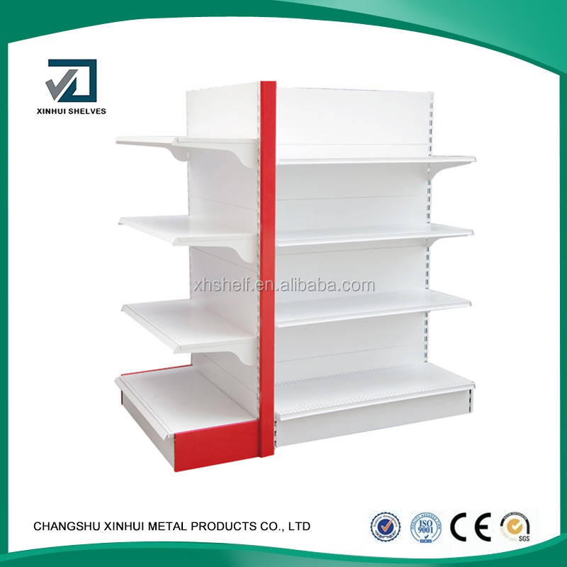 Convenience Store Double sided medium duty metal store/supermarket shelf