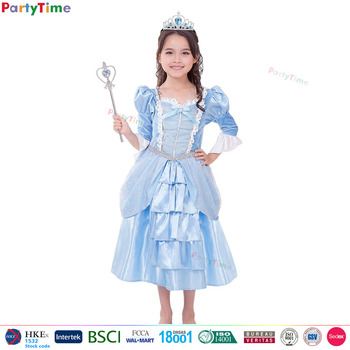 oem party city halloween costumes girls for light blue glamour princess latest party wear dresses for