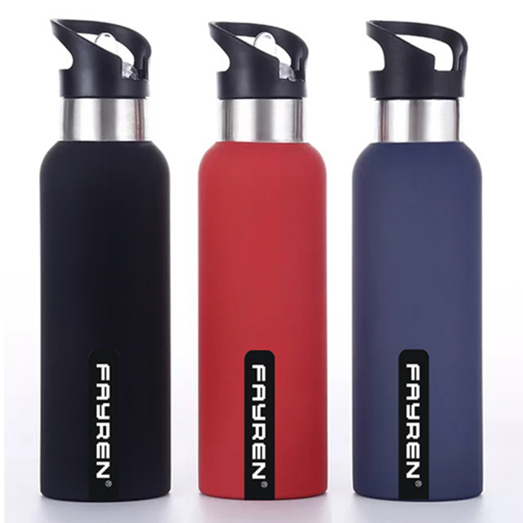 FAYREN latest design double wall leak proof vacuum sealed metal <strong>sports</strong> drink water bottle