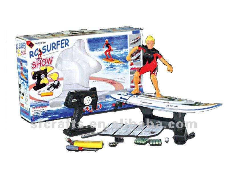 Cool kid toy rc speed boat rc surfer