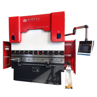 cnc control 4 axis hydraulic press brake price for aluminum sheet with standard die