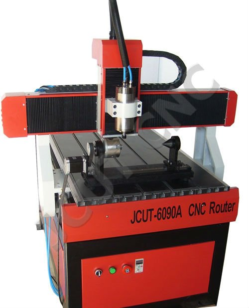 Medium-sized CNC Router for mold/wood/arts&crafts/glass/acrylic JCUT-6090A