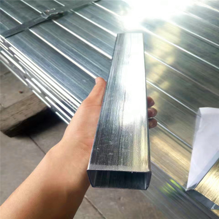 Galvanized Steel Square Tube Dip 6 M Erw Hot Dipped Gi Pipe