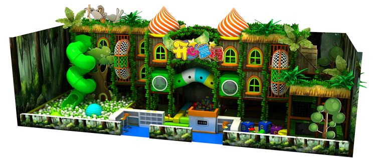 Primary school attractive forest series toys indoor playground