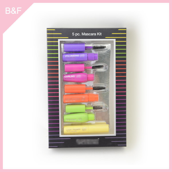 5pk Mascara kit mini nail polish