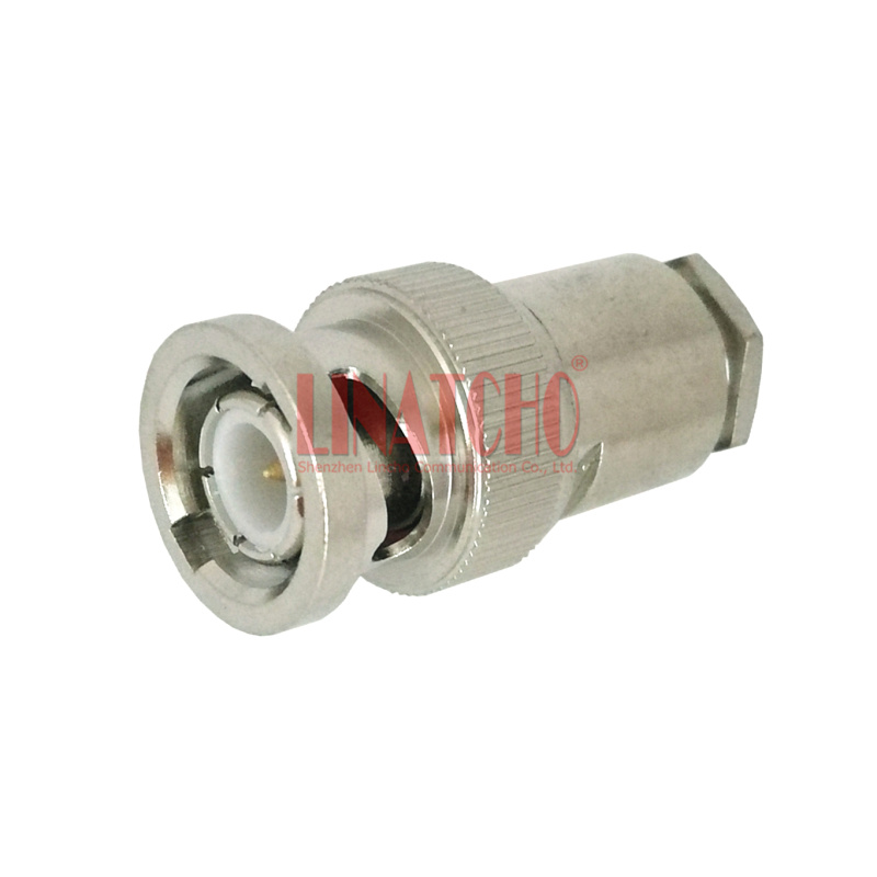 USA Seller BNC Male 6-PC Solder Type Connector RG58 RG142 LMR195 1 PACK