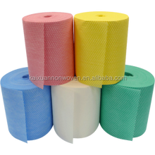 ISO9001:2008,BSCI Factory disposable home appliance usage all purpose cloths/lightweight J cloth rolls