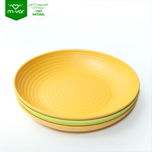 Food Stock corrugated flange plate dinner plate