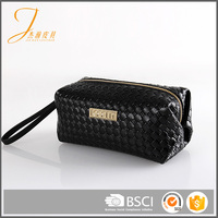 New design good quality glitter zipper cosmetic packaging wallet bag to fashion