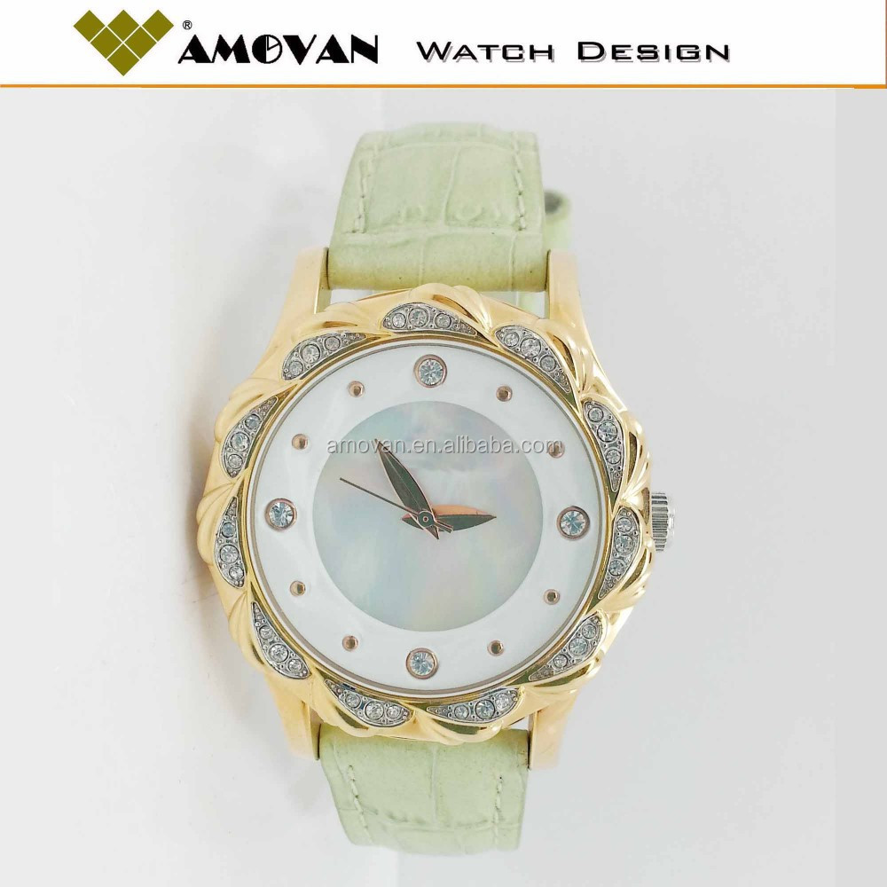 spain geneva flower watch christmas gift diamond watch china manufacturer