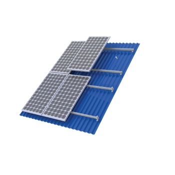 Metal roof solar mounting system 1kw to 10MW solar panel plant use