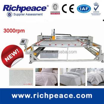 China Longarm Computerized Single Needle Quilting Machine