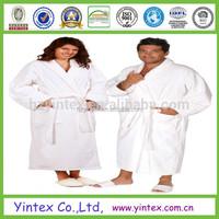 2017 100% Cotton Elegant Couples Bathrobe cotton quilted bathrobe
