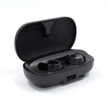 Dual side TWS true wireless BT connection touch headphones