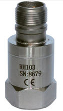 Top output accelerometer, 100mV/g, made in China