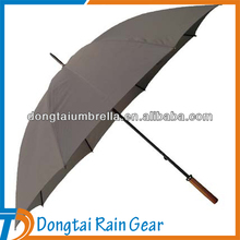 Professional Manual Open Golf Rain Gear Umbrella
