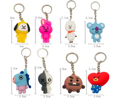 <span class=keywords><strong>Venda</strong></span> quente silicone bts keychain