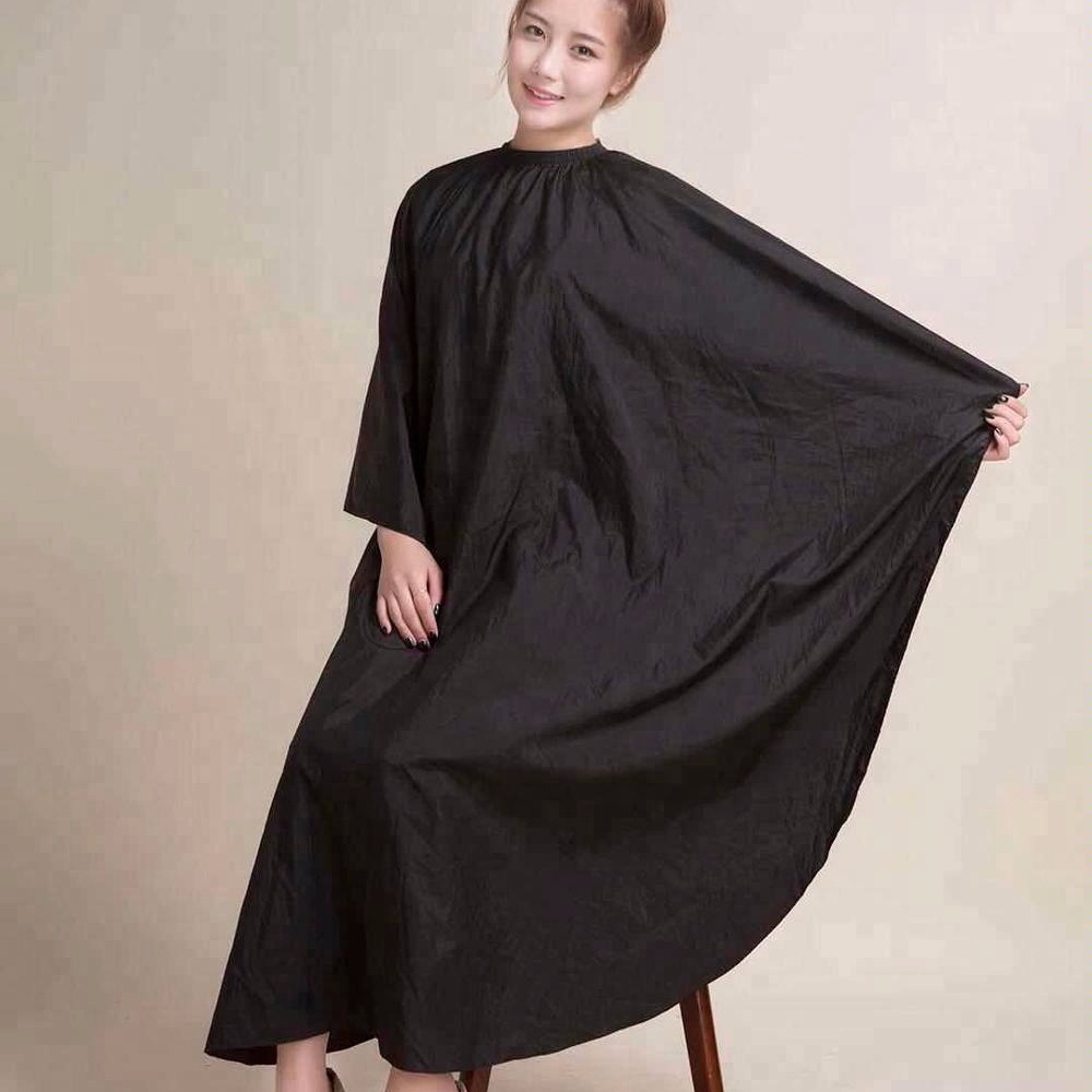 2018 Wholesale different color Professional Polyester Hairdressing Cape Hair Cutting Cape Barber Cape фото