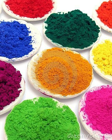 Water Dye Color Powder