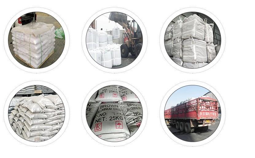 Marrone ossido di alluminio abrasivi mesh/corindone carta vetrata