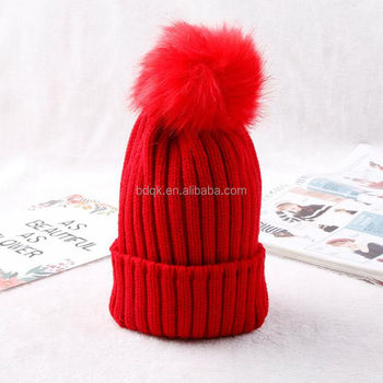b426faff China Wholesale Pom Pom Sex Girl Acrylic Kniting Beanie Hat - Buy ...