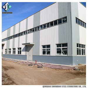 Thin-walled Prefab Space Light Gauge Steel Frame Structure for Factory buildings