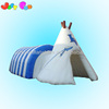 Hot sale snail tent inflatable for kids