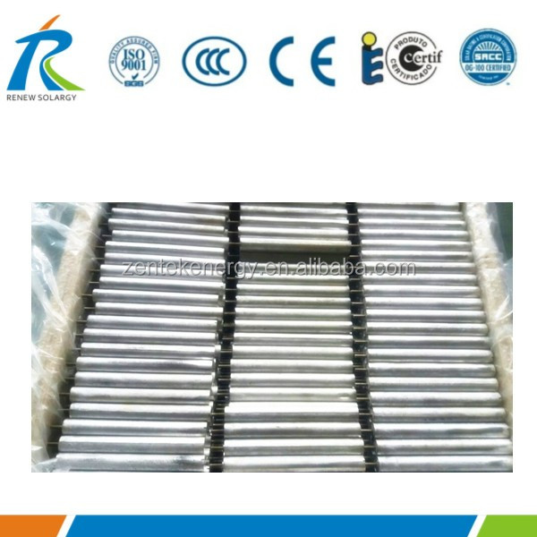 Solar water heater magnesium anode rods