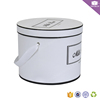 Round cylinder paper mini florist flower box for preserved roses arrangement