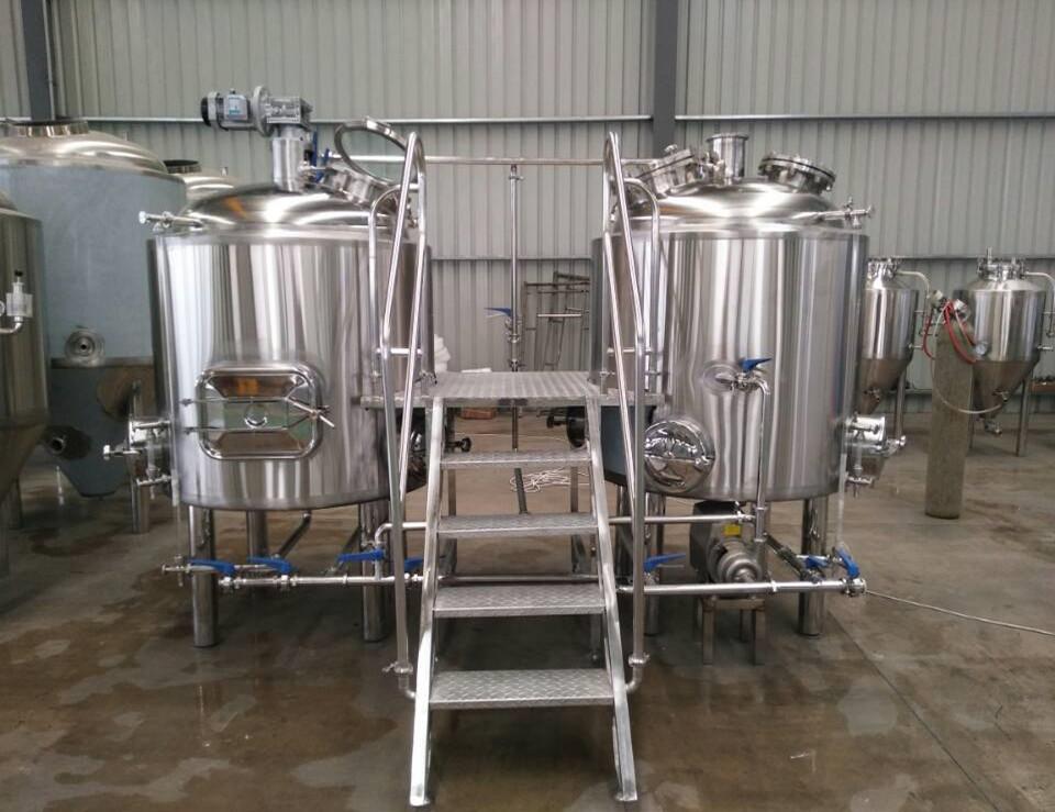 beer brewing equipment 10bbl, fine polishing beer making machine