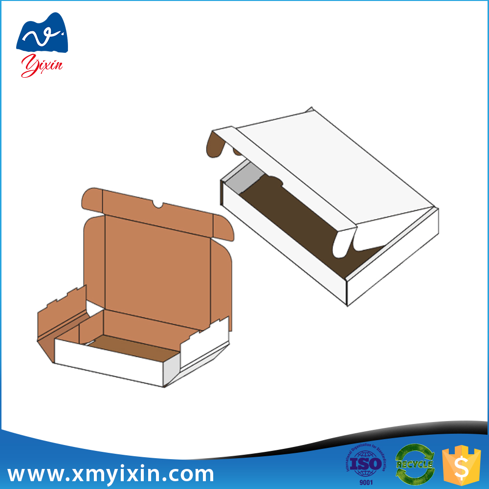 High quality carton sheet packaging e flute corrugated box