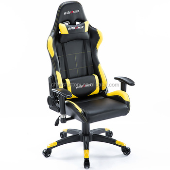 Babamia Sports Racing Chair Genuie Leather Office Gaming Of Fbee