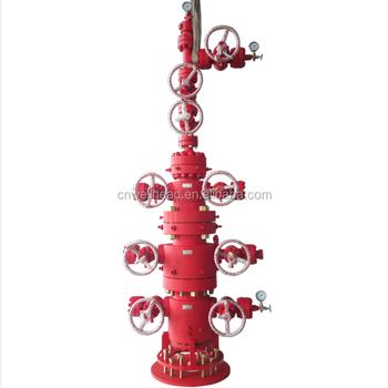 Api 6a Wellhead And Christmas Tree Equipment Xmas Tree For Oil Drilling Oil Well And Gas Christmas Tree Manufacturer Buy Kepala Sumur Dan Pohon Natal Untuk Pengeboran Minyak Minyak Dan Pohon Natal Pohon Natal Product