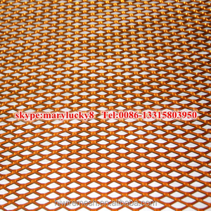 copper expanded metal sheets/Expanded metal copper mesh/copper expanded metal rolls