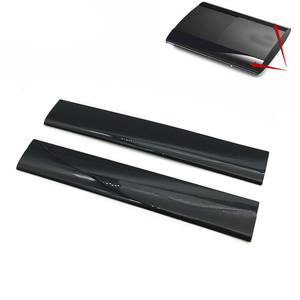 LQJP Console Shell for PS3 Slim Replacement Left Right Faceplate Cover Shell Case for PS3 Slim 4000 Console