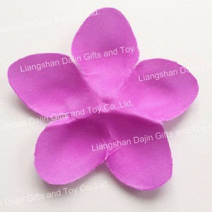 Colorful polyester flower lei hawaiian party decoration party lei hawaii lei wholesale