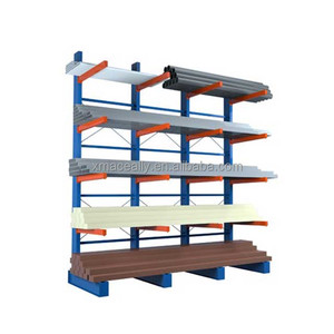 Easy Figulartion of cantilever racks with heavy-duty load capacity cantilever racking