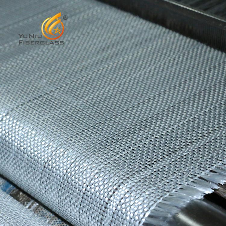 Uso ampliamente de fibra de vidrio tejida para la construcción naval