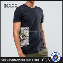 MGOO New Fashion Streetwear Cool Men Fitness Crew Neck Tee Graphic Print T-Shirt Wholesale
