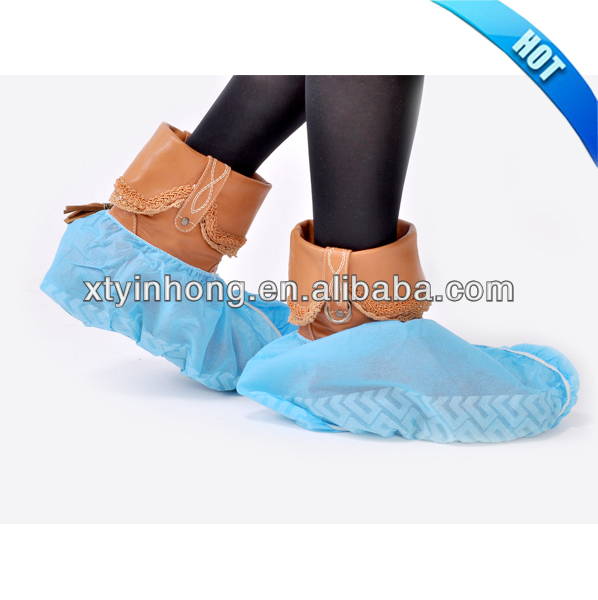 surgical non-woven antiskid shoe cover