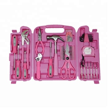 149 Stucke Haushalt Werkzeug Sets Damen Rosa Schraubendreher Hand