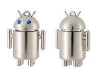low price android robot usb flash drive 1gb