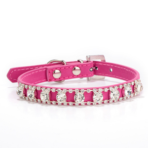 Per Accessories New Style Decorative Rhinestone Studded Dog Collar